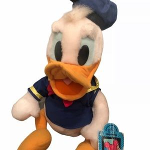 """🐤Applause Vintage Donald Duck 12"""" Plush Toy"""